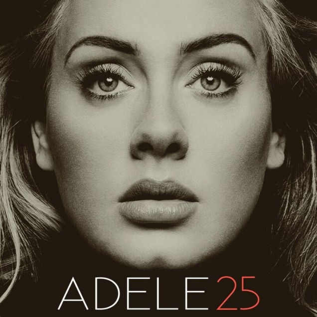 Aldele album cover '25'
