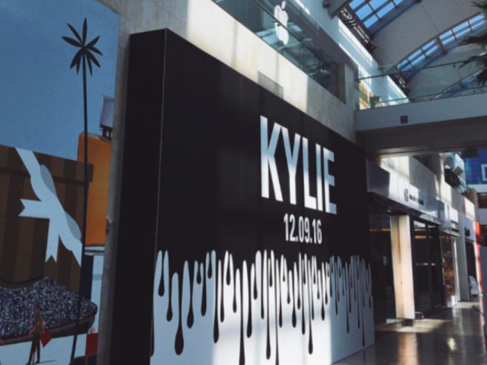 Kylie Jenner's Pop-Up Shop