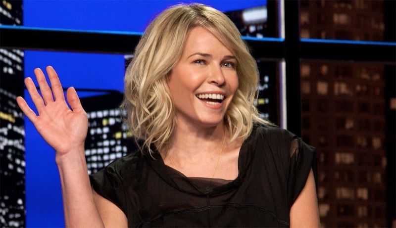 Photo taken from the Chelsea Handler show