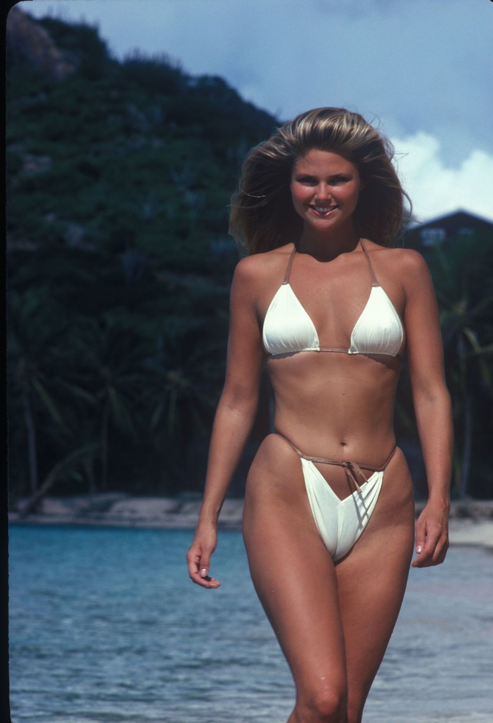 Photo taken from Sports Illustrated's 1980 Swimsuit Issue - Christie Brinkley
