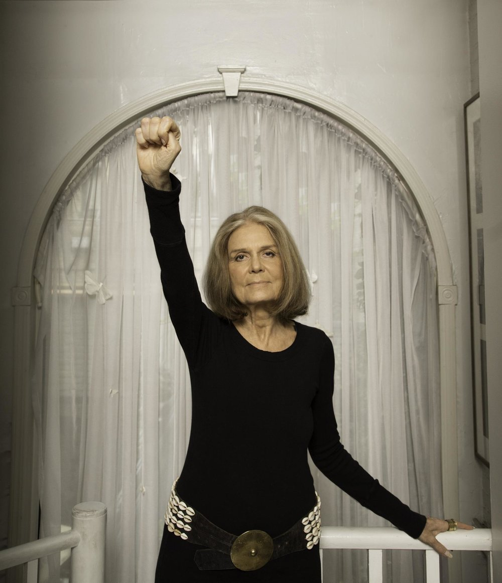 Photo taken from Instagram of Gloria Steinem