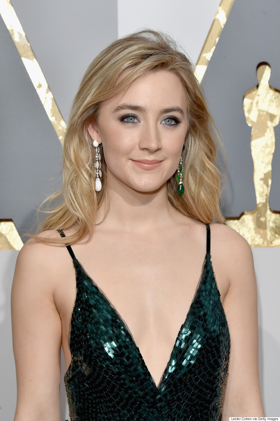 Photo taken from the Huffington Post - of Saoirse Ronan