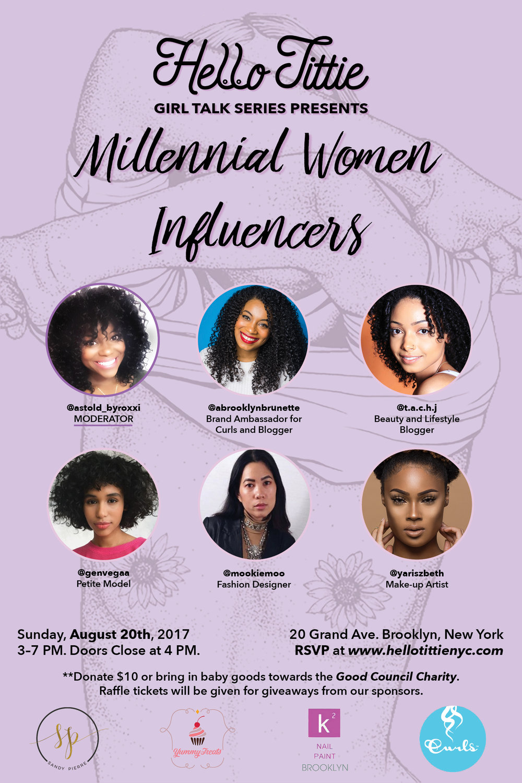 Millennial Women Influencers