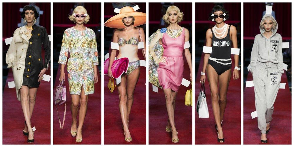 Photo taken from Moschino - Milan Fashion Week Spring 2017