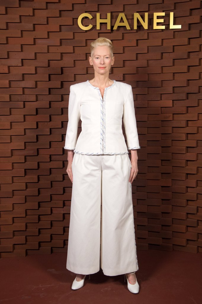 Photo taken from Popsugar Caption- Tilda Swinton