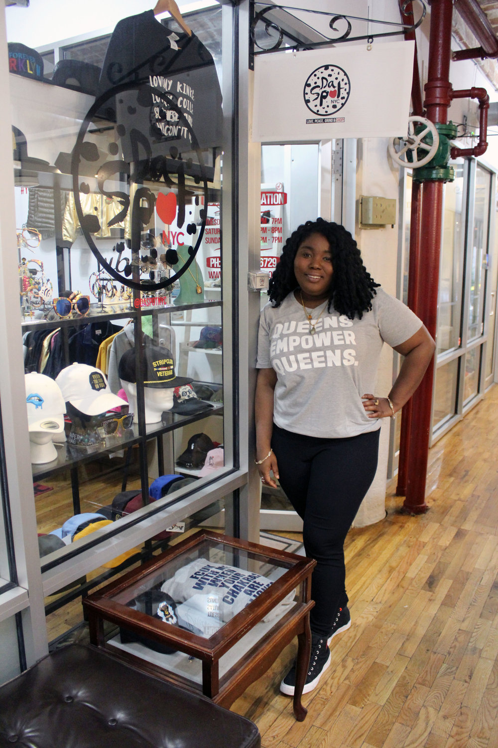 Michelle Cadore   One of the owners of a boutique store in Brooklyn, New York called  Da Spot . Her interview will inspire you and have you running to her store.  Click on her name or her photo to read more!