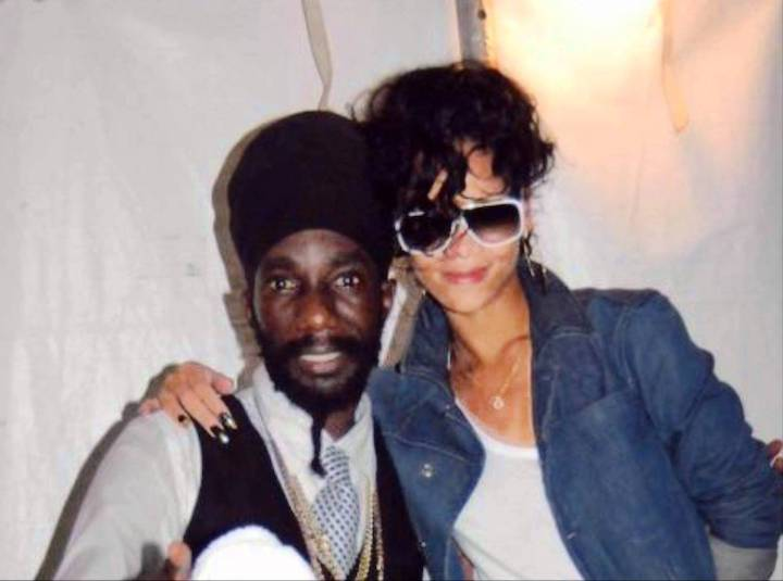 Photo taken from Google - Rihanna and Buju Banton