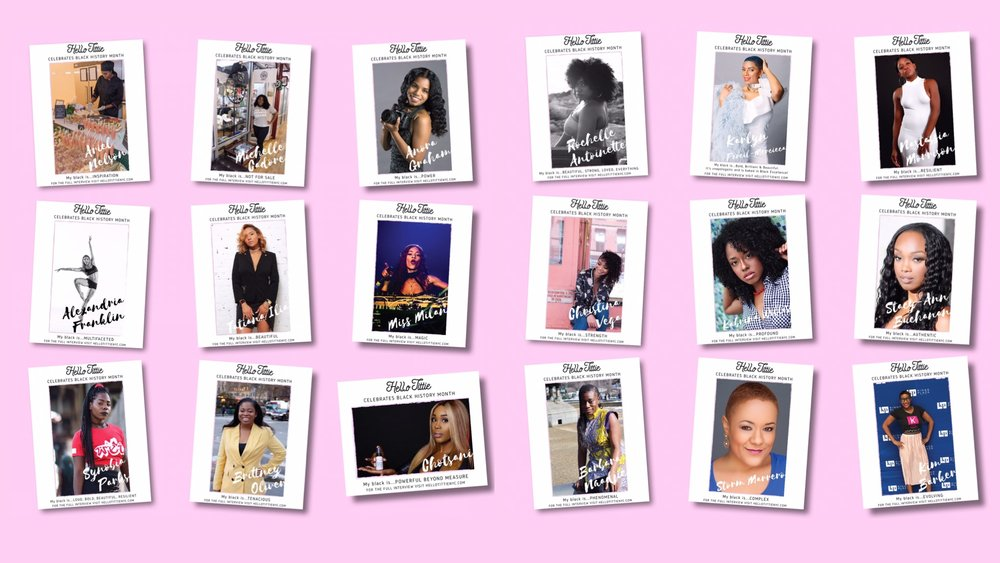 Phenomenal woman of Color - February Is Black History Month!We Were Lucky Enough To Interview A Group Of Phenomenal Women. Click On The Title Or Learn More Link To View The Interviews.