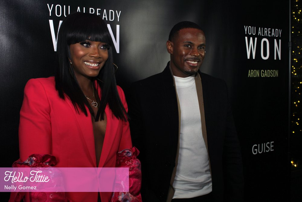 You Already Won:Author Aron Gadson and Host Yandy Smith - Hellotittie joined Aron Gadson in celebration for the anticipated release of his book 'You Already Won' and his co-host Media Mogul Yandy Smith