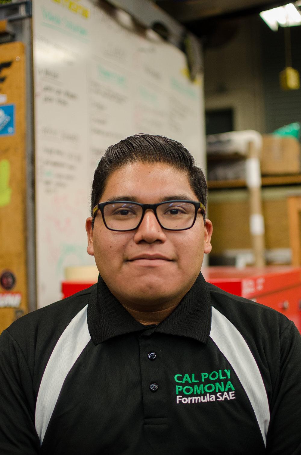 Ricardo Gonzalez - Drivetrain Captain rgonzalez4@cpp.edu