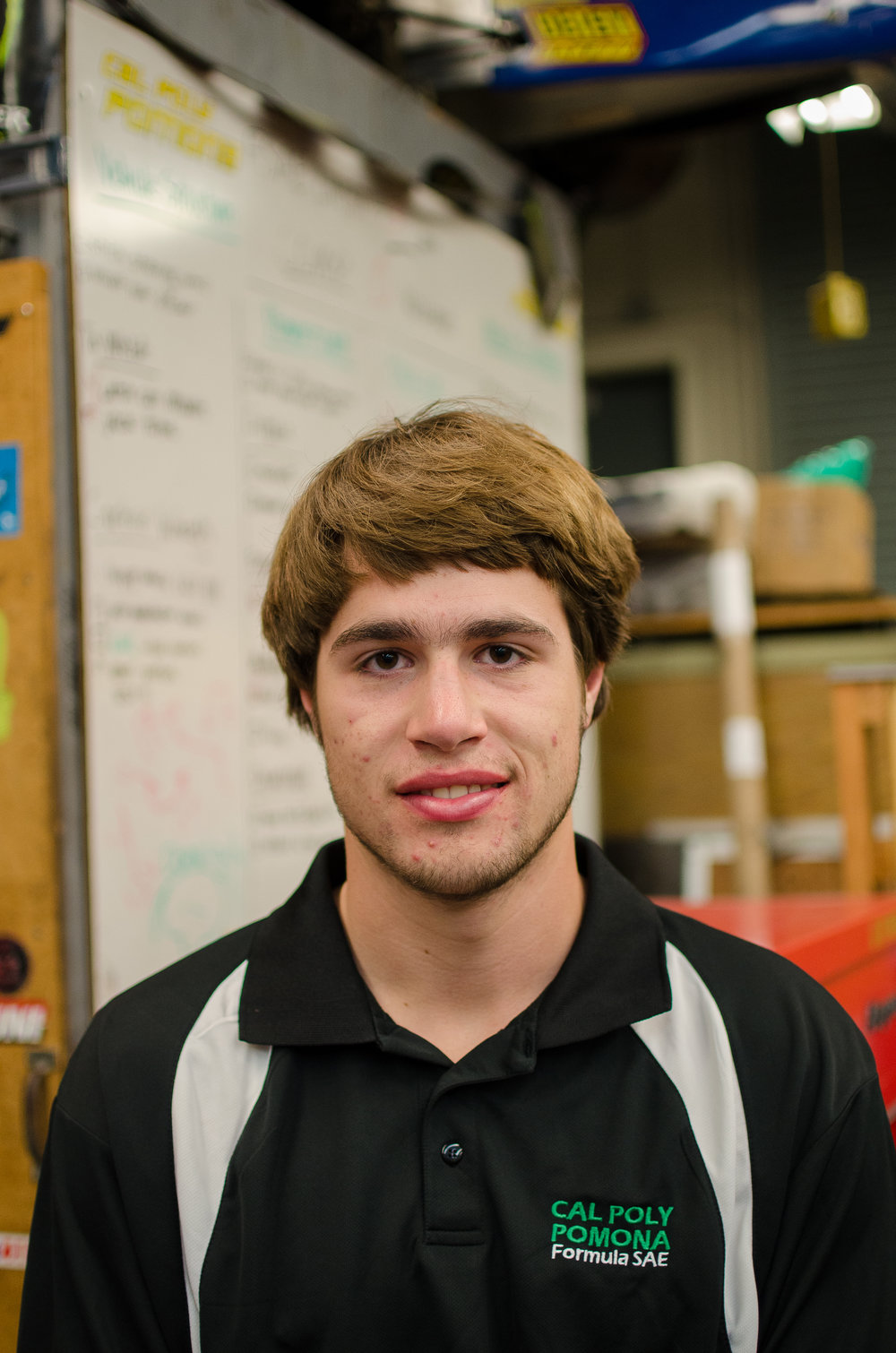Owen Wilkening - Fuel Captain oawilkening@cpp.edu