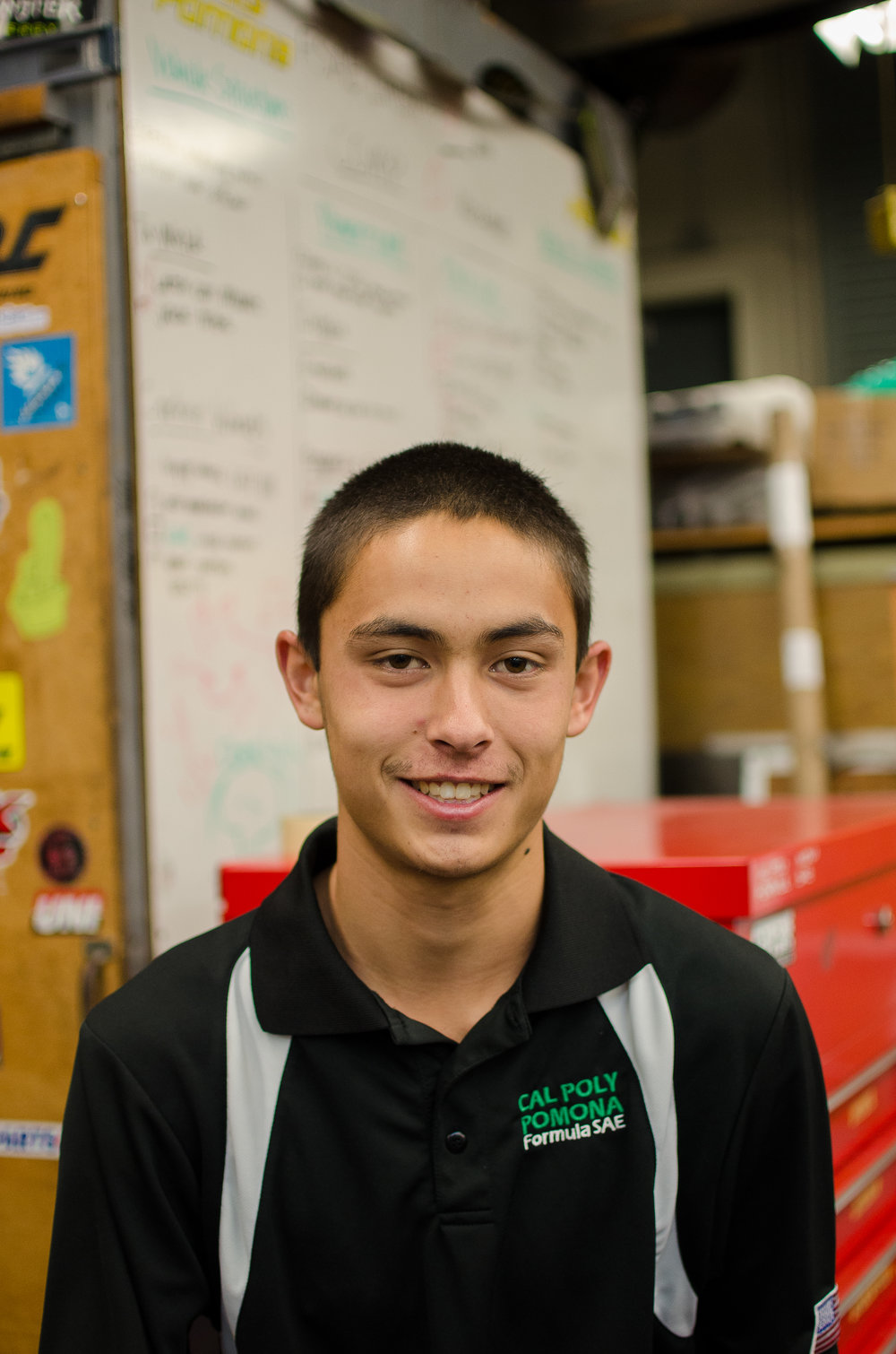 Nick Curran - Steering/Brakes Captain nscurran@cpp.edu