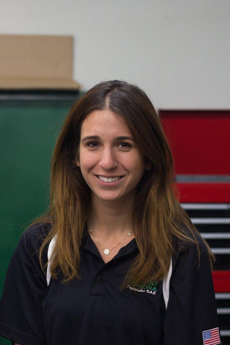 Sarah Ramlaoui   Electronic Throttle Control (ETC) Captain   sramlaoui@cpp.edu