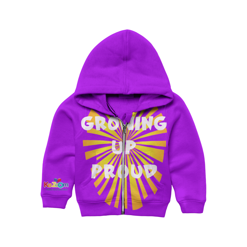 Kazoom Kids shirt front-purple.png