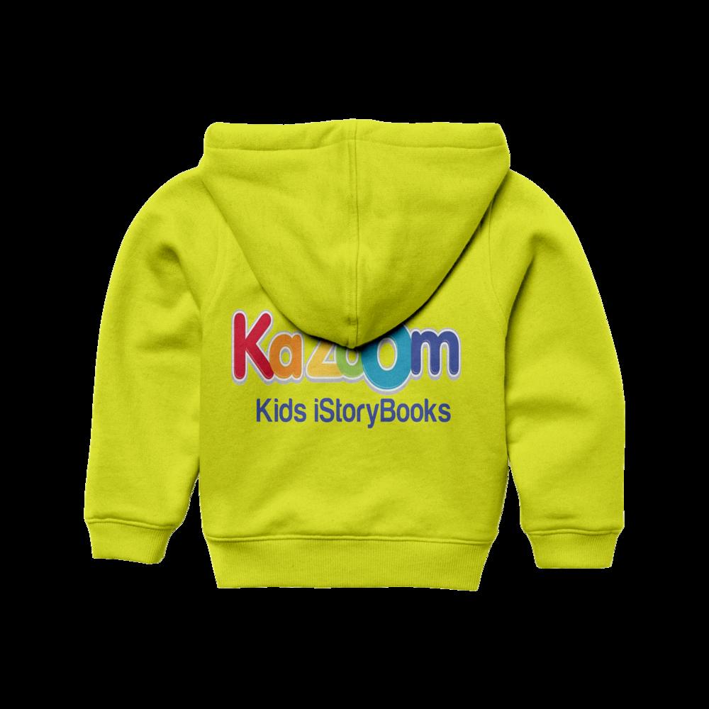 Kazoom shirt yellow back.png