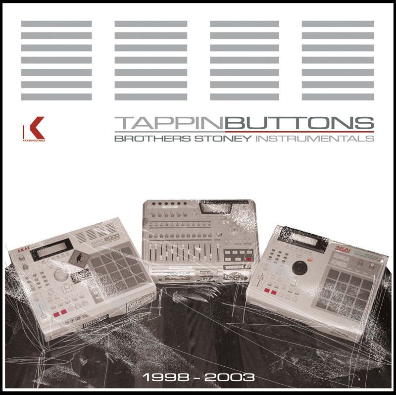 K-003 - 2004 Brothers Stoney - Tappin Buttons - CD www.shop.karsniogenics.com.au