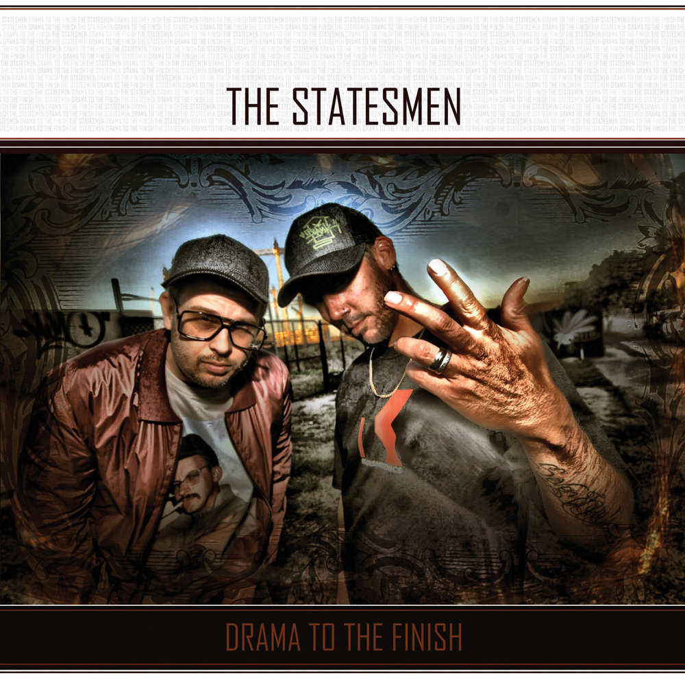 K-010 - 2010  The Statesmen - Drama To The Finish - CD   www.shop.karsniogenics.com.au