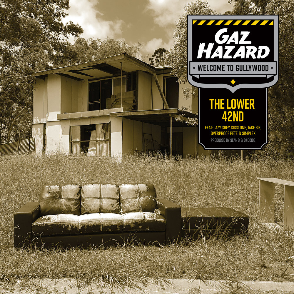 K-022 - 2018  Gaz Hazard - The Lower 42nd - 7inch Vinyl  www.shop.karsniogenics.com.au  Click cover for iTunes