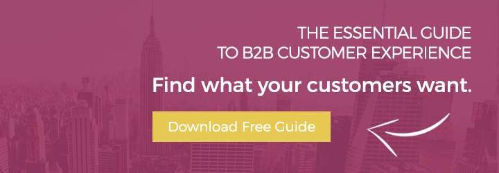 The Essential Guide to B2B customer experience - Find what your customers want - Download the Free Guide