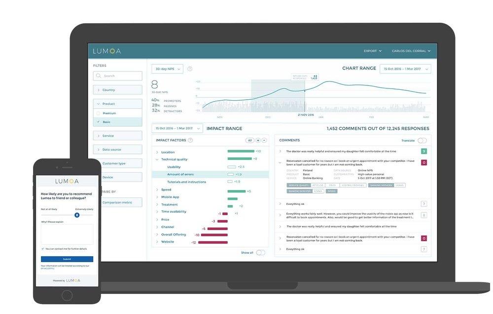 Customer experience tool for dental clinics dashboard