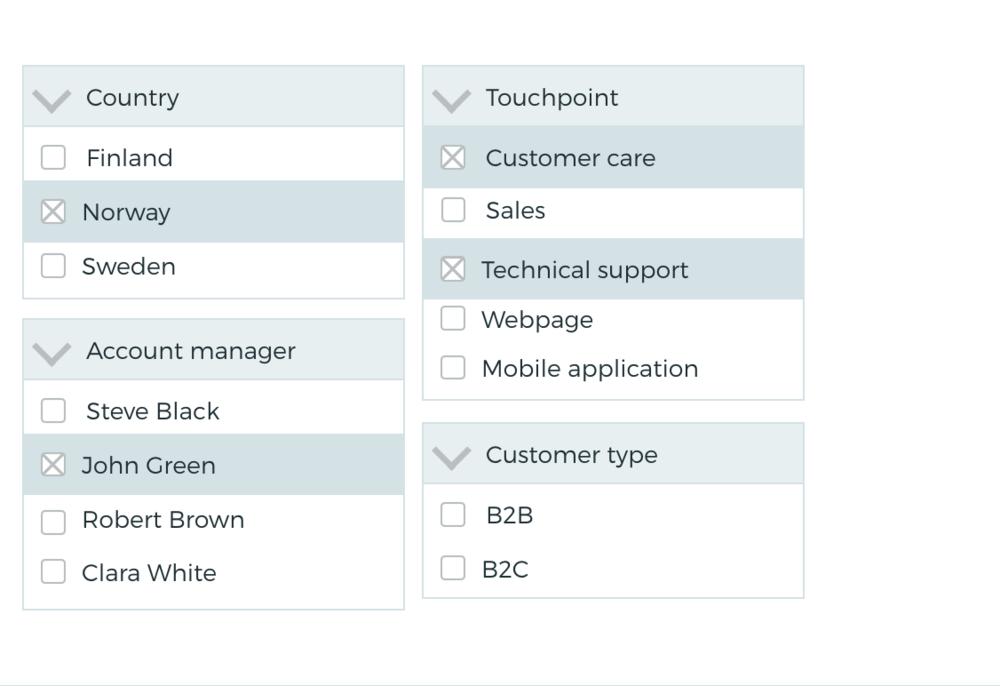 Segment your customer feedback