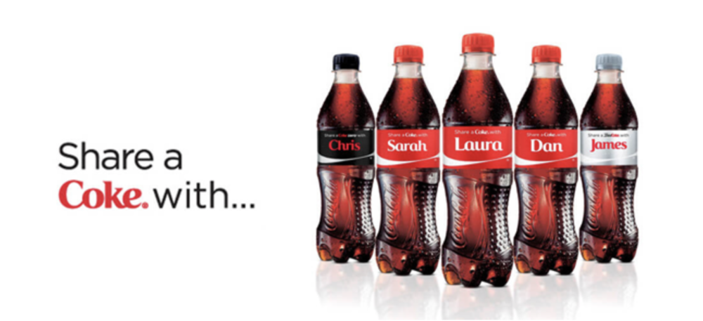 Coca Cola Personalized Customer Experience