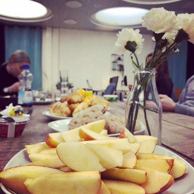 Company breakfast! #startup #lumoame