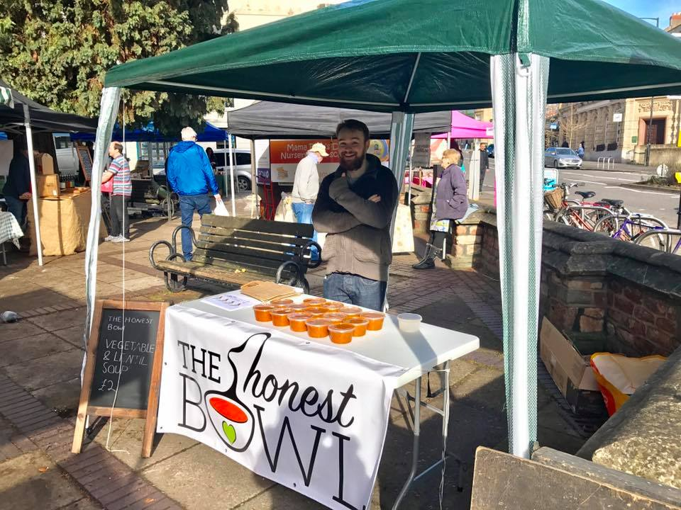 The Honest Bowl - The Honest Bowl produces soup using waste food product, then sells the soup at local markets, donating profits made to homeless shelters. Eventually the project looks to employ homeless as employees.