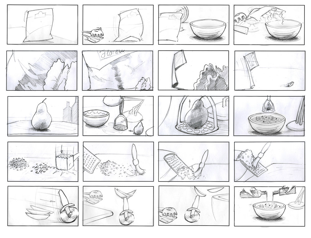 Commercial Storyboard | Jack Wright Storyboard Artist Storyboards