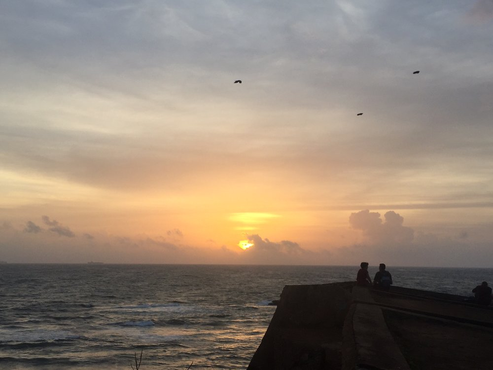 Sunset at the Fort in Galle