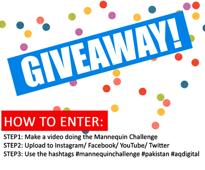Mannequin Challenge Pakistan