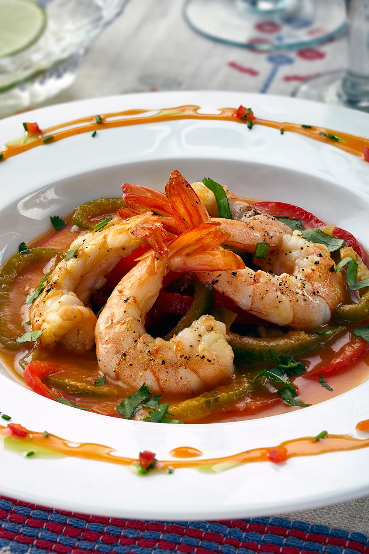 Shrimp Veracruz