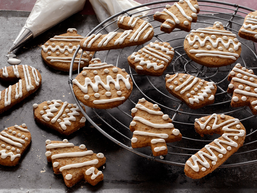 Ornamental cookie frosting