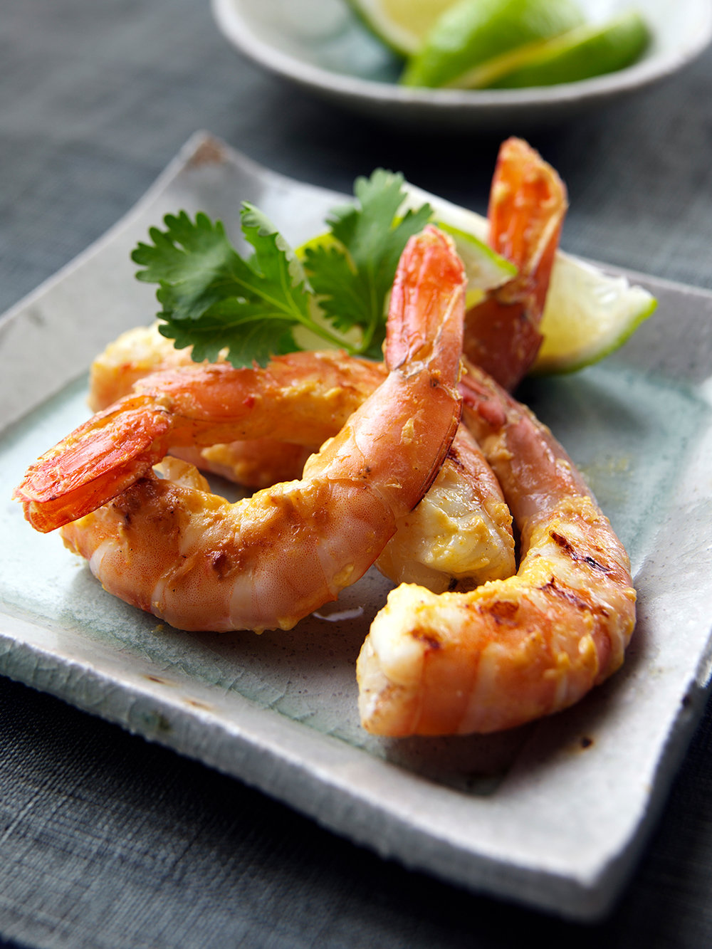 Curried prawns aka shrimps