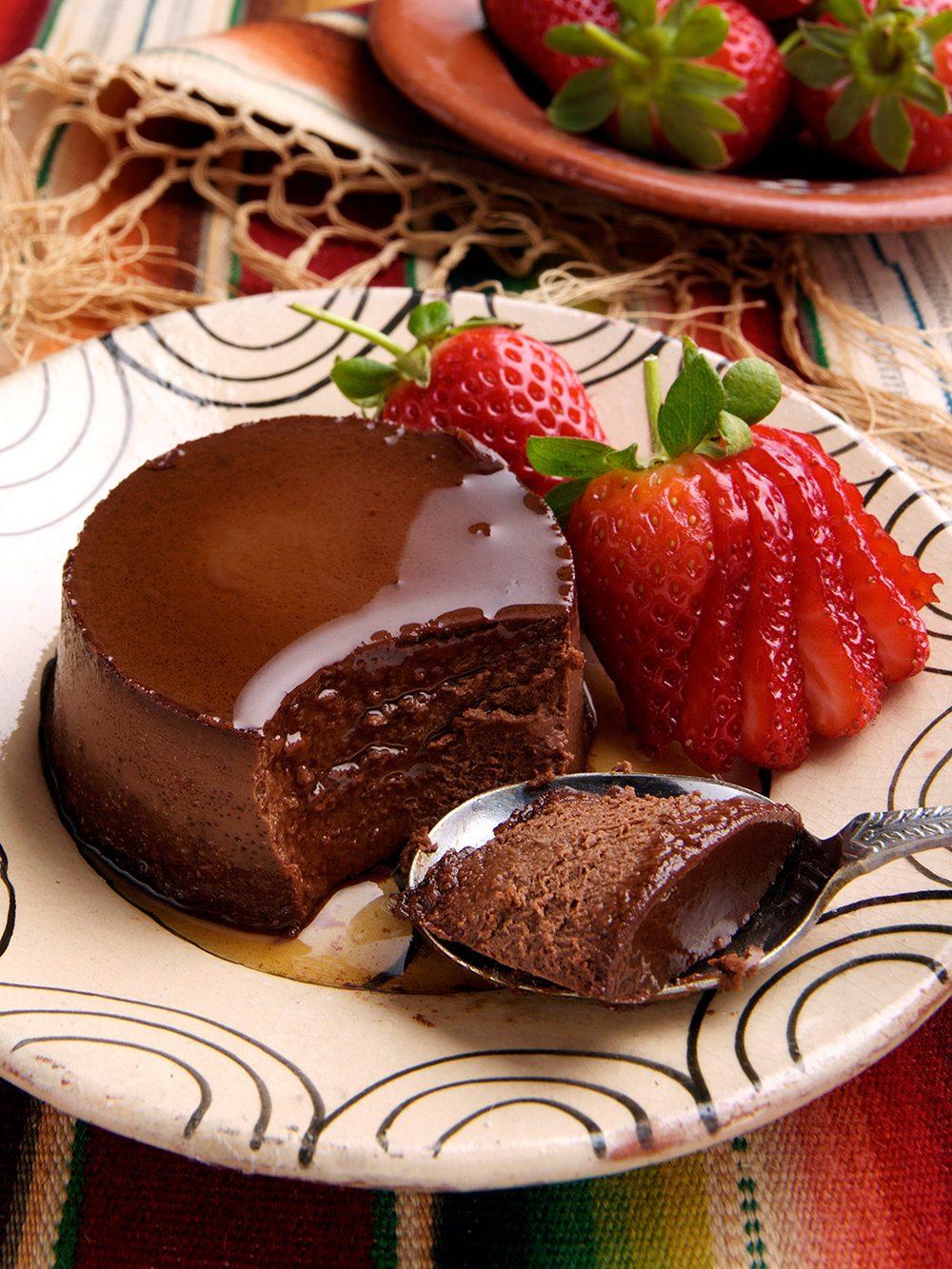 Chocolate creme caramel
