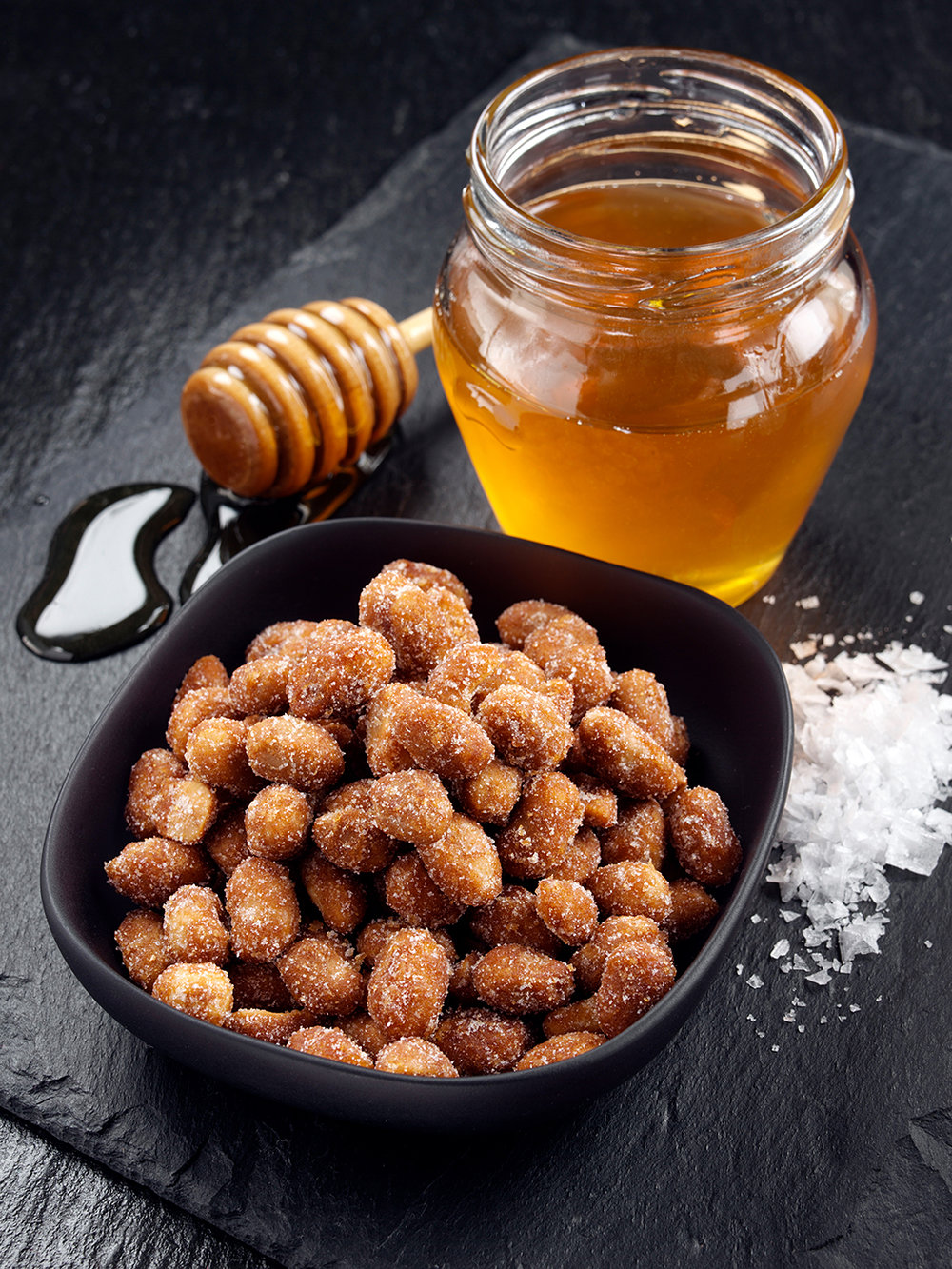 Honey salted nuts
