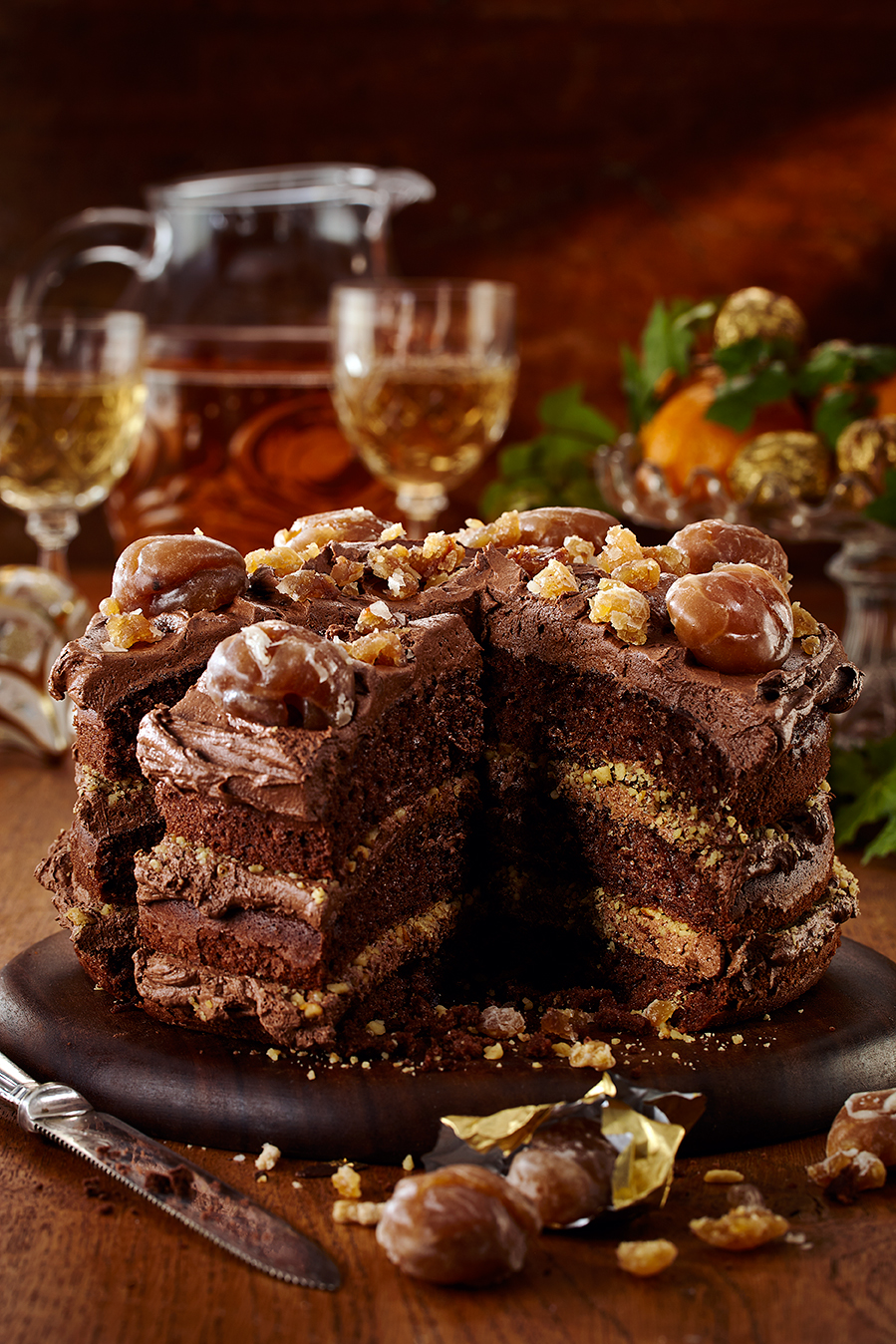 Marron_glace_chcolate_cake
