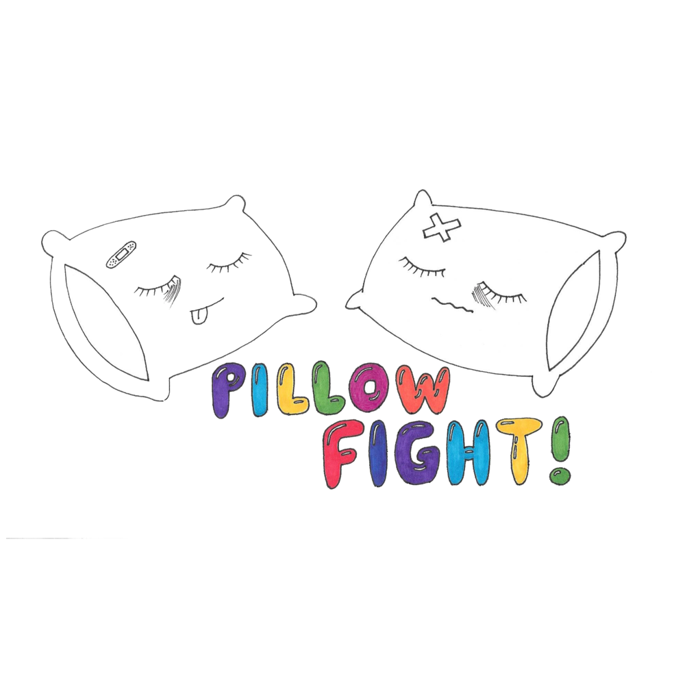 Pillow Fight!  Become Katie Van Patten and Taylor Cluck's new BFF on Pillow Fight!