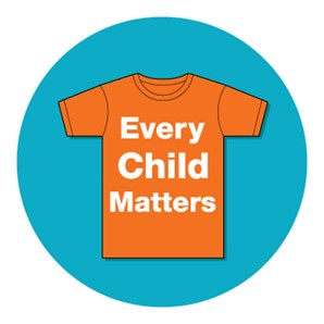 Orange Shirt Day - Everyone is invited to wear an orange shirt Sunday,to remember and honour all the Indigenous childrenwho went to Residential Schooland those children who died at school.