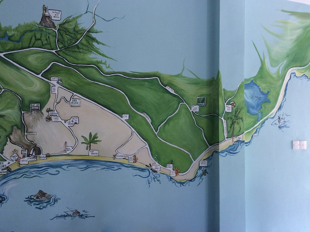 South Coast Map Mural