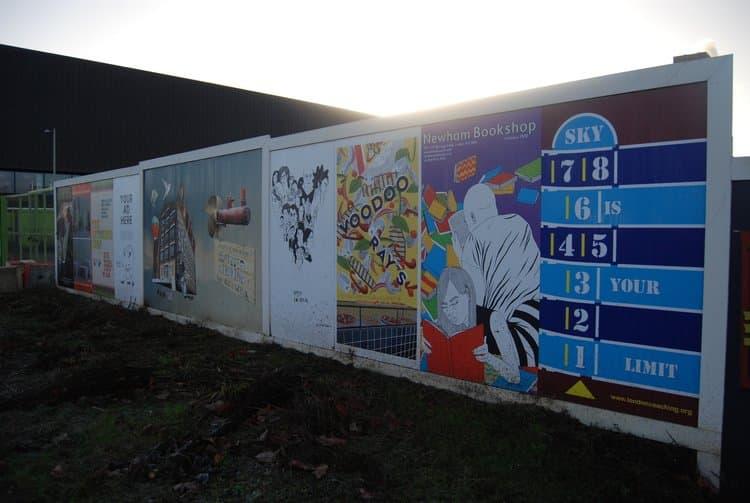 Hoarding & site signage -