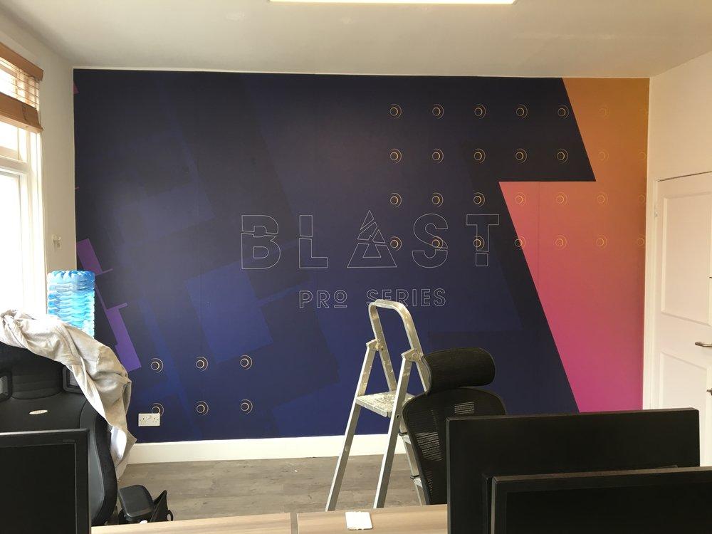 2.Main Wall Wallpaper Install.JPG