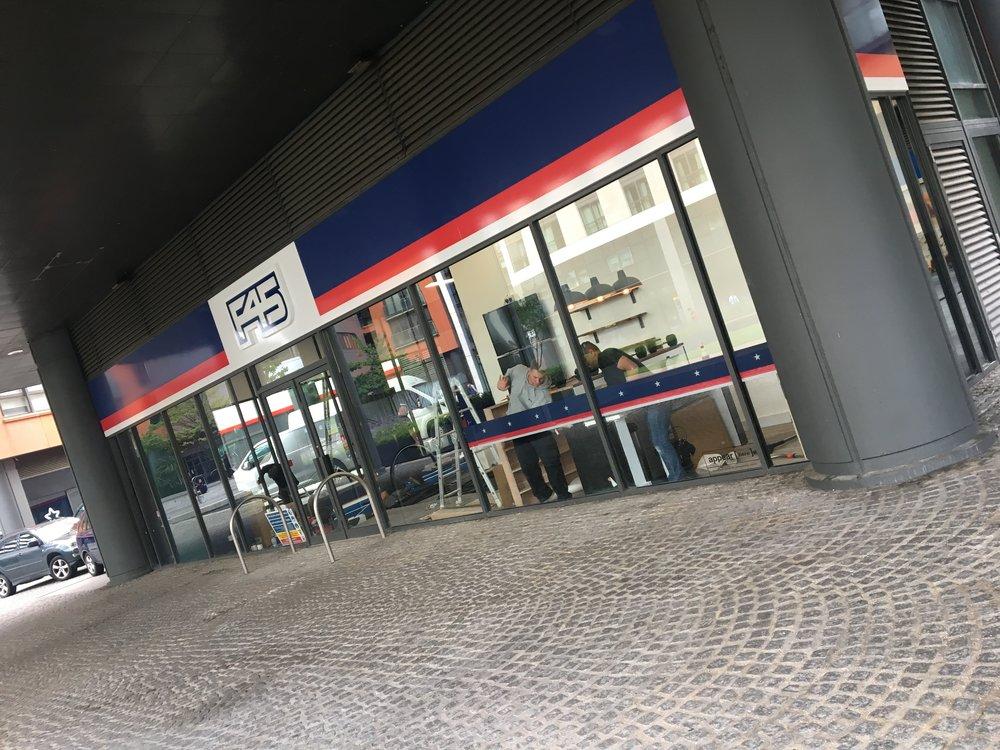 Shop Front & fascia signage -