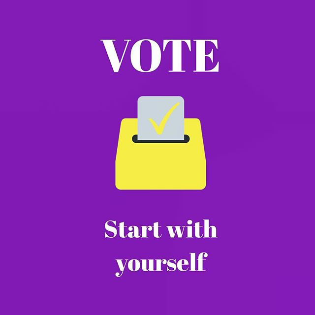 We keep talking about starting with ourselves to make change. Tomorrow is our moment to do that. Make a change, play your part, start  with yourself - VOTE! 🇵🇰 #betterpakistan