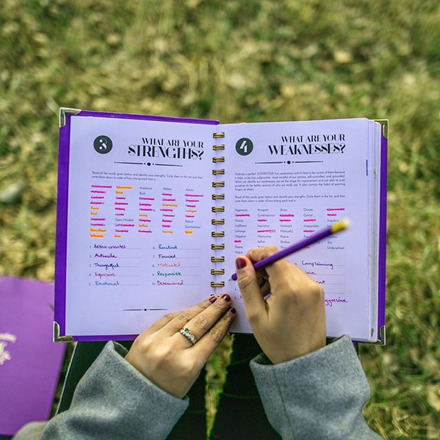 Answer 17 important questions about yourself in the first part of the Positivity Planner and learn more about yourself! 💜 #StartWithYourself #BeYou #BeSelfAware