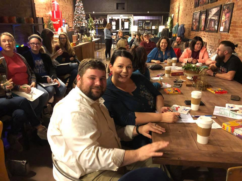 Friends Trivia night in Martin, Tennessee