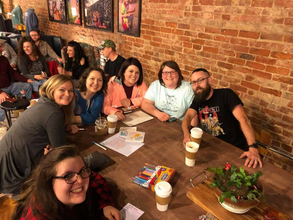Friends Trivia night in Martin, Tennessee