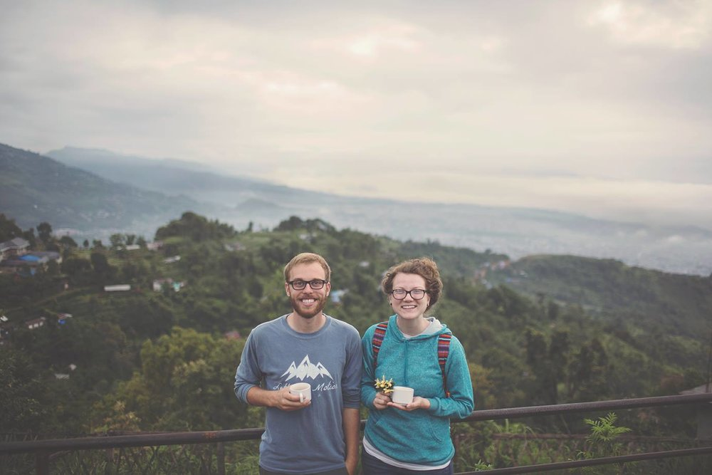 John and Courtney in Nepal