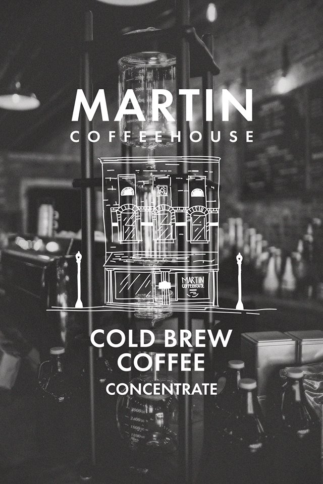 Cold Brew Coffee Martin Coffeehouse