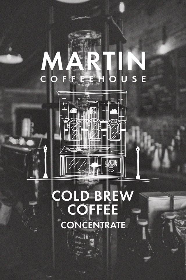 Cold Brew Coffee Martin Coffeehouse